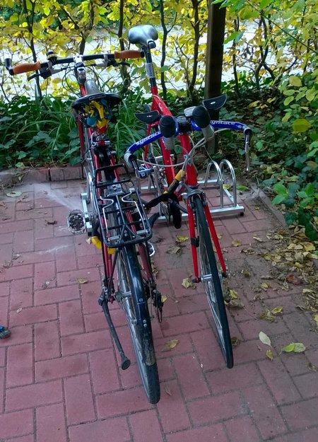 Hier wird das Rennrad nicht wohnen.